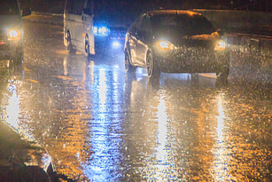 Drive Safely in Heavy Rain
