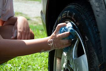 who cleans their car