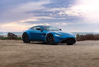 Luxury car Aston Martin Vantage 2019
